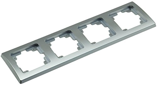 ChiliTec Delphi frame meervoudig frame 4-voudig, zilver