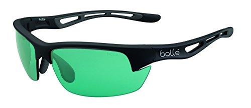 bollé Sonnenbrille Bolt S Gafas de Sol Deportivas, Unisex, Negro Mate