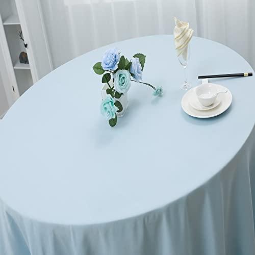 LIUJIU Mantel rectangular oblongo clásico de rejilla de mesa, lavable, fibra de poliéster, algodón, mantel de lino, adecuado para uso diario durante la vida cotidiana, cena y vacaciones, 140 x 200 cm