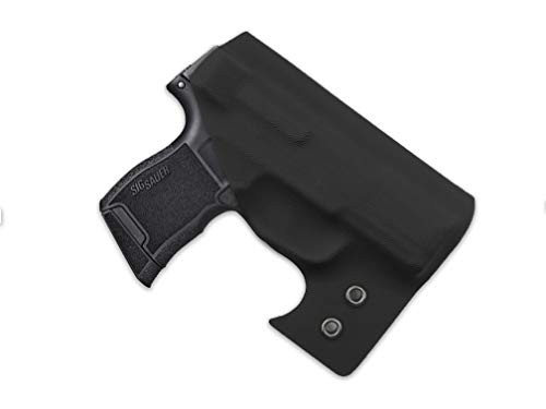 MIE Productions Straton Tactical - Pocket Holster - Fits: Ruger LCP 2 (Black, Ruger LCP 2)