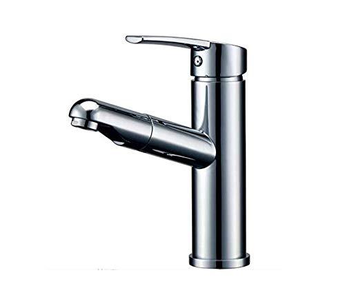 Keuken badkamer waterkraankoper Pull-Type waterkraan warm en koud shampoo telescoop onder bar