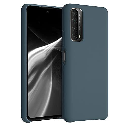 kwmobile Hülle kompatibel mit Huawei P Smart (2021) - Hülle Handyhülle gummiert - Handy Hülle in Slate Gray