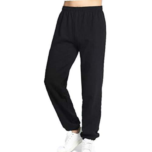 N\P Los Hombres De Invierno Pantalones De Chándal Cálido De Lana Gruesa Pantalones Sueltos De Cintura Elástica Pantalones De Algodón Casual Para Hombre Pantalones De Pantalones