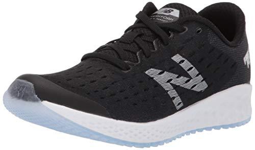New Balance Girls Fresh Foam Zante Pursuit V5 Running Shoe, Black/Silver, 1 Wide Little Kid
