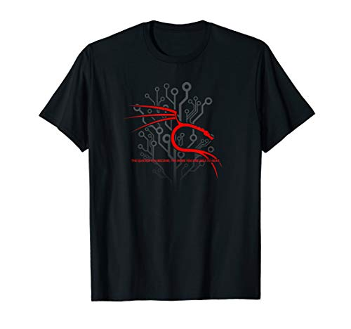 Backtrack Kali Linux T-Shirt with Dragon and Tagline