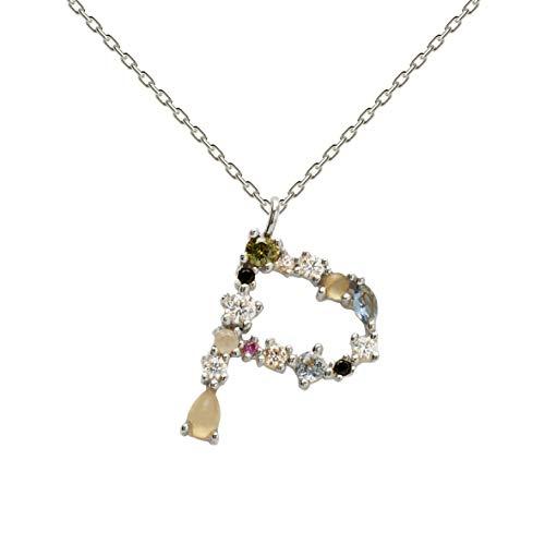 Necklace P D PAOLA CO02-111-U silver, letter P