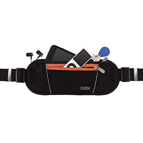 Pochete Sport Move, OEX, Mochilas, capas e maletas para notebook, Preto com laranja