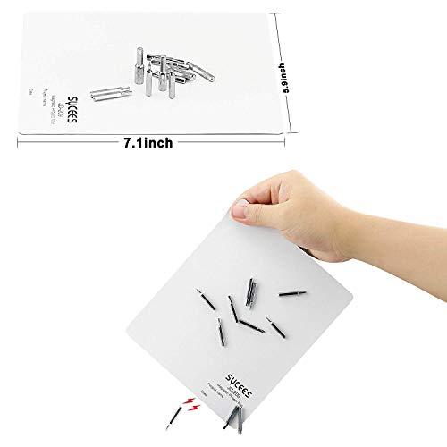 SYCEES Magnetische Projektmatte Reparaturmatte Unterlage Magnetic Project Mat für Elektronikreparatur