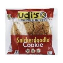 Udis Gluten Free Snickerdoodle Cookie, 1.7 Ounce -- 36 per case.