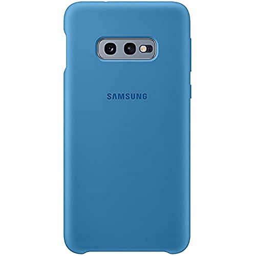 Samsung EF-PG970TLEGWW Custodia in Silicone per S10 E, Blu