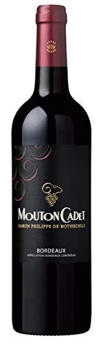 Baron Philippe de Rothschild Mouton Cadet Rouge Bordeaux AOC 2017 trocken (0,75 L Flaschen)