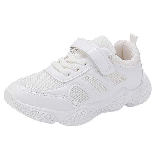 catmoew Kinder Sneaker Kinder Jungen Schuhe mädchen Schuhe Einfarbig Netzoberfläche Nähen Bequeme Turnschuhe Laufschuhe Kinder Sportschuhe günstig Schuhe kaufen Schuhe für Kinder