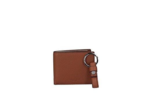 Michael Kors 36H6MBXF5L LUGGAGE Portemonnaie für Herren Braun Leder One size