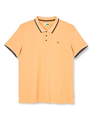 Esprit 020ee2k305 Camisa de Polo, 840/Melocotón, S para Hom