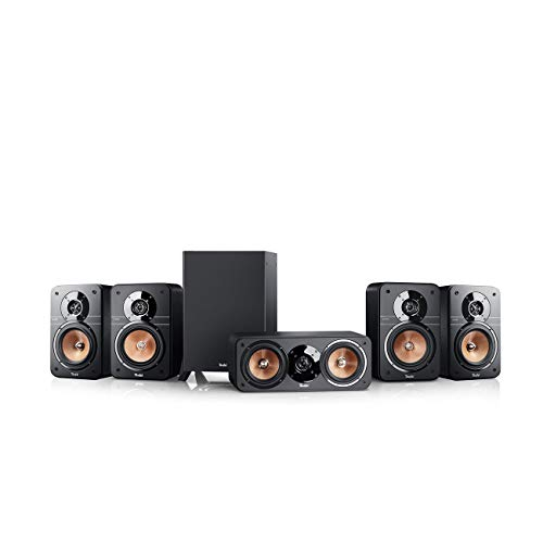 Teufel Ultima 20 Surround 5.1-Set Schwarz Heimkino Lautsprecher 5.1 Soundanlage Kino Raumklang Surround Subwoofer Movie High-End HiFi Speaker