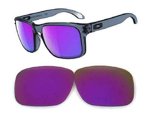 Galaxy lentes de repuesto para Oakley Holbrook Lila Color Polorized,GRATIS S&H - Morado