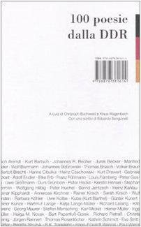 100 poesie dalla DDR
