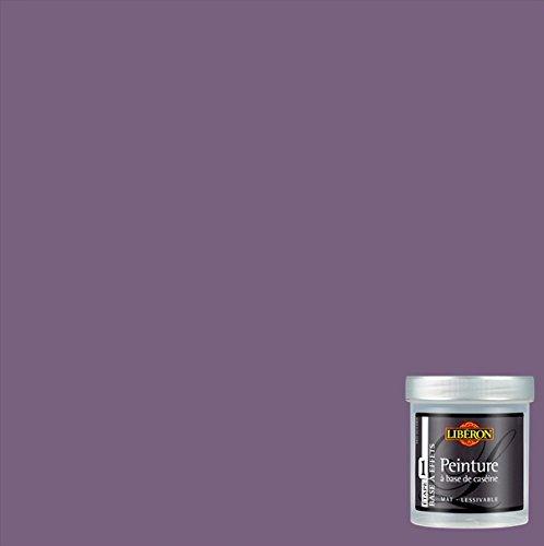 LIBERON Peinture décorative à base de caséine pour meubles et objets, Violet assoupi, 0,5L