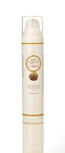 Dr. Oldhaver Exotic Super Lift Creme - Creme zur Straffung von Haut und Brust mit der Thailändischen Pueraria Mirifica, Für einen schönen, vollen Busen, Straffungscreme mit Kokosöl und Zimtöl (100ml)