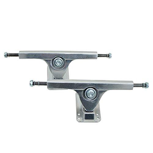 Apollo Longboard Achse - FatCat - Silver - 7 Inch / 178 mm Longboard-Achsen Set/Trucks - Truck Set mit 2 Achsen