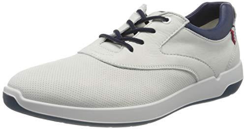 LLOYD Herren Allison Sneaker, Weiß (White/New Ocean 1), 46 EU