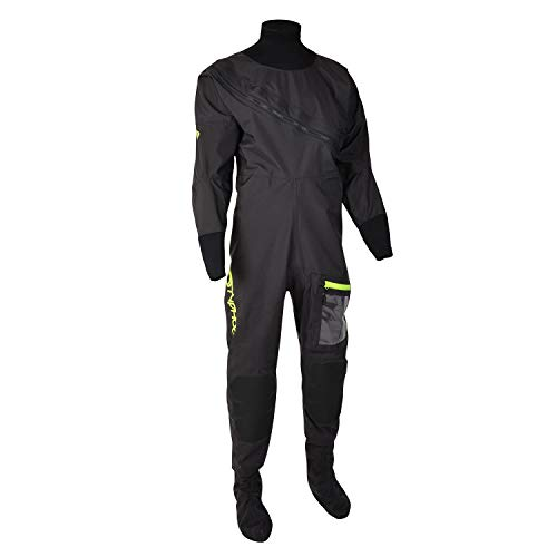 Typhoon 2020 Ezeedon 4 Drysuit 100174 & Undersuit - Black