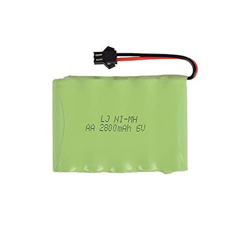 6v 2800mah batería remota Coche Barco Robot Recargable Juguete eléctrico batería 6V Red