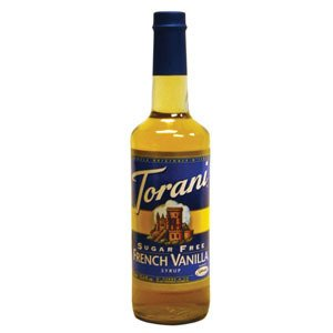 Torani Sirup French Vanille zuckerfrei 750 ml