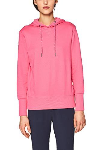 edc by ESPRIT Damen 019CC1J019 Sweatshirt, Rosa (Pink 670), Small (Herstellergröße: S)