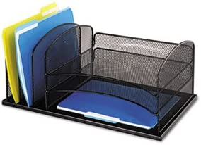 Desk Organizer Six Sections low-pricing Steel Mesh 3 Price reduction B x 8 11 19