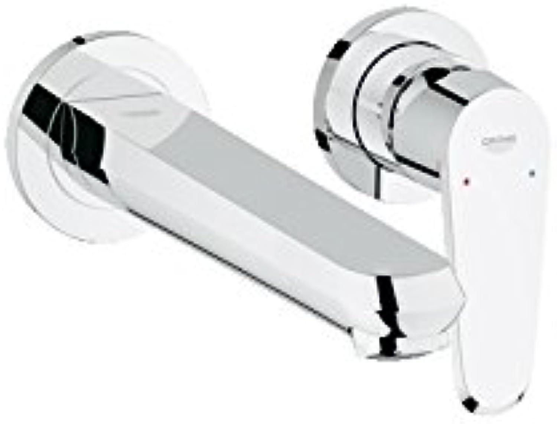 Grohe Eurodisc Cosmopolitan Sink Mixer Tap, Chrome, 2?Ports 19974002?Large