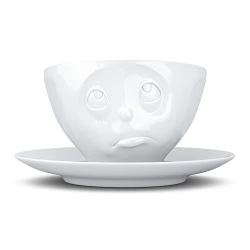 Fiftyeight T014401 Kaffee-Tasse Och Bitte Hartporzellan 200 ml, weiß
