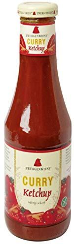 Zwergenwiese Bio Curry Ketchup (2 x 500 ml)