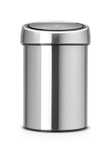 Brabantia Touch Bin, 3 L - Matt Steel