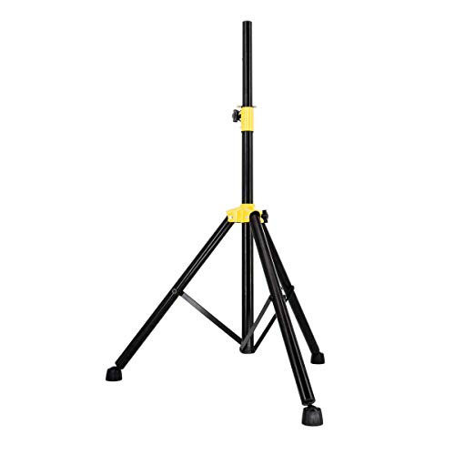 PremiumX Dreibein Stativ Tripod Lautsprecher Audio Boxen Ständer schwarz 105-165cm Haus Garten Camping