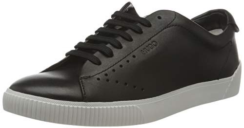 HUGO Zero_Tenn_N, Zapatillas Mujer, Negro1, 37 EU