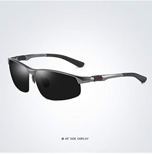 Gafas de sol polarizadas para hombre, marco de aluminio, deportivas, gafas de protección solar para hombre, estilo retro, protección UV400, antirreflejos