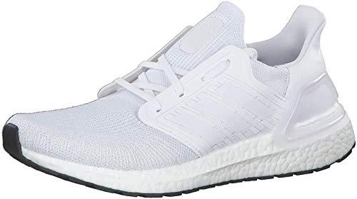 adidas Men's Ultraboost 20 Running Shoes, mens, EF1042, Multicoloured (Ftwr White Grey Three F17), 37 1/3