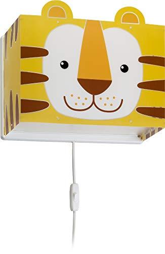 Dalber kinder Wandlampe, Kinderlampe Wandleuchte Little Tiger Tiere