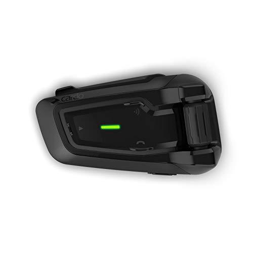 Cardo Packtalk Black Special Edition DMC/Bluetooth Motorcycle Helmet Communication System, Sound by JBL, 3-Year Warranty, Single Pack - PTB00040