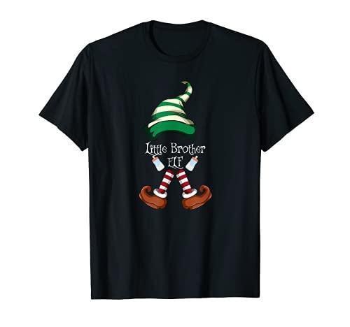 Pijama de Elf Familia a juego de Navidad para niños pequeños Camiseta