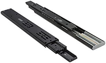 VADANIA 12-Inch Soft-Close Ball Bearing Drawer Slide 3 Folds Full Extension, Side Mount, 100 Lb Load Capacity, 1 Pair (2-Pack)