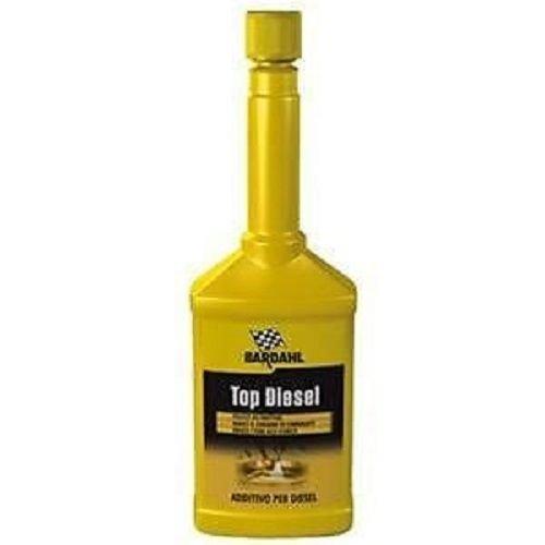 MG Kit Additif pour carburant diesel Bardahl Top Diesel, nettoyant pour injecteurs, 250 ml