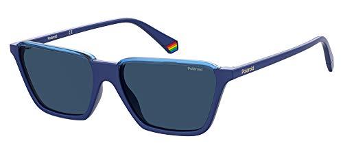 Polaroid PLD 6126/s Sunglasses, PJP/C3 Blue, 56 Mens