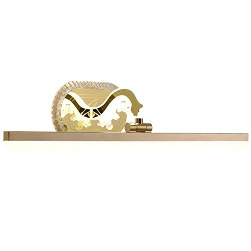 SOARLL- Spiegel Voorlicht Acryl Kleine Amerikaanse Licht Luxe Spiegelkast Licht Led Gouden Make-up Lamp Verlichting [Energie Klasse A ++]