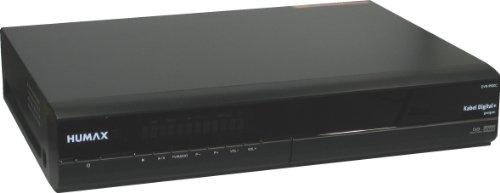 Humax DVR-9900 C Kabel Receiver (160 GB Festplatte, zertifiziert für Kabel Deutschland, MPEG-2, SCART) schwarz