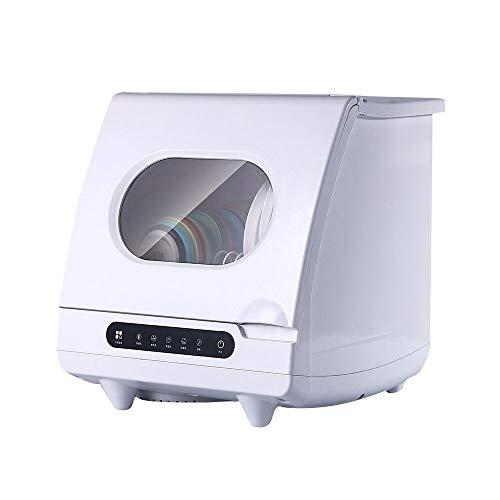 LAMCE Lave Vaisselle 45 cm - Classe A+++ / 14 Couverts - INOX Bandeau,Le Lave-Vaisselle Automatique de Bureau n'a Pas Besoin d'installer Un Petit Lave-Vaisselle intégré à séchage Intel