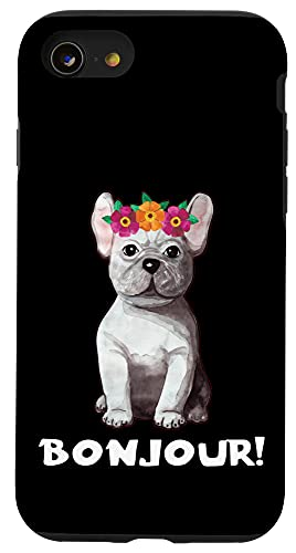 iPhone SE (2020) / 7 / 8 Bonjour French Bulldog Frenchie Owner Mom Dad Lover Cute Case
