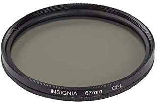 Insignia 67mm Circular Polarizer Lens - NS-CP67