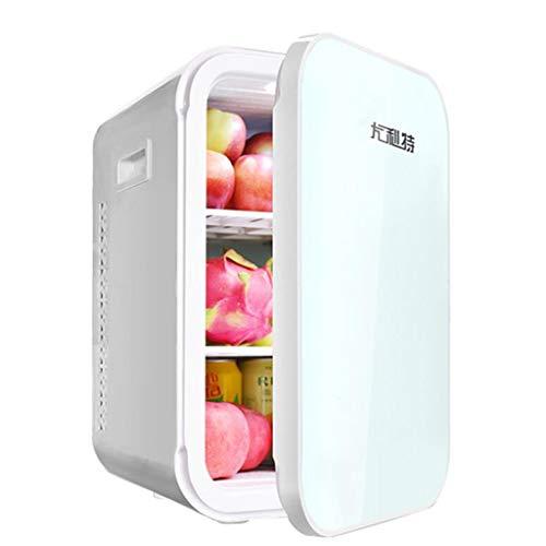 Mini refrigerador con Enfriador y Calentador para el hogar y el automóvil refrigeradores de Doble Uso, refrigeradores termoeléctricos compactos para el Cuidado de la Piel y cosméticos